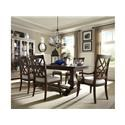 Trisha Yearwood Home Collection by Klaussner Trisha Yearwood Home 9 PC Dining Room Set - Item Number: 392292024