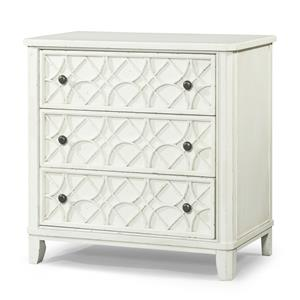 Trisha Yearwood Home Collection by Klaussner Trisha Yearwood Home 3-Drawer Accent Chest