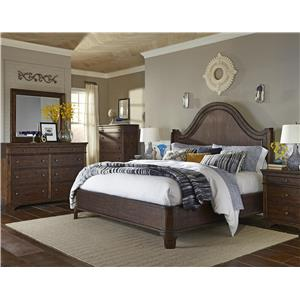 Trisha Yearwood Home Collection by Klaussner Trisha Yearwood Home Patricia Queen 4-Piece Bedroom Group