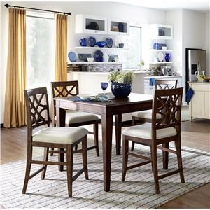 Trisha Yearwood Home Collection By Klaussner 5PC Counter Height Dining Set