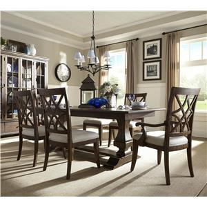 Trisha Yearwood Home Collection by Klaussner Trisha Yearwood Home 5 Piece Dining Set
