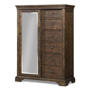 Trisha Yearwood Home Collection by Klaussner Trisha Yearwood Home Tulsa Sliding Door Chest