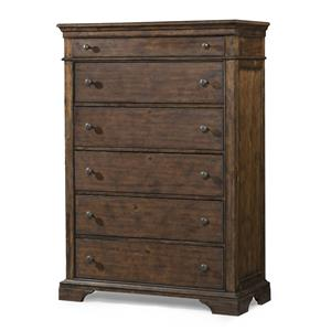 Memphis 6 Drawer Chest