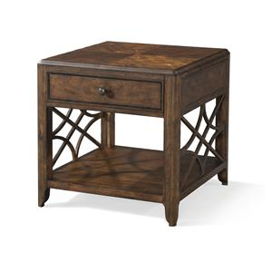 Trisha Yearwood Home Trisha Yearwood Home Georgia Rain One Drawer End Table