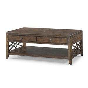 Trisha Yearwood Home Collection by Klaussner Trisha Yearwood Home Georgia Rain Cocktail Table
