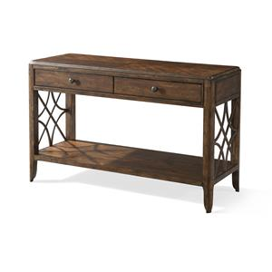 Trisha Yearwood Home Collection by Klaussner Trisha Yearwood Home Georgia Rain Drawer Sofa Table