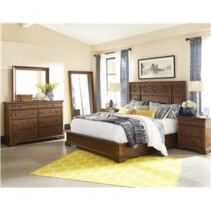 Trisha Yearwood Home Collection by Klaussner Trisha Yearwood Home 4-Piece King Bedroom