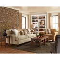 Trisha Yearwood Home Collection by Klaussner Yukon Living Room Group - Item Number: K52400 Living Room Group 1