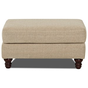 Trisha Yearwood Home Collection by Klaussner Yukon Ottoman