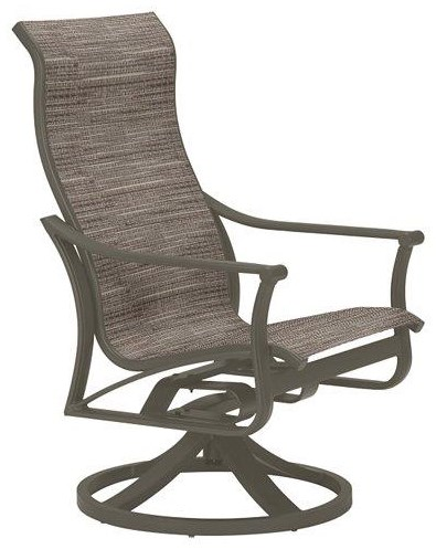 Corsica High Back Swivel Rocker Chairs by Tropitone at Johnny Janosik