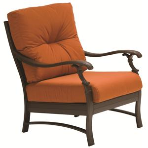 Tropitone Ravello Relax Plus Traditional Outdoor Arm Chair