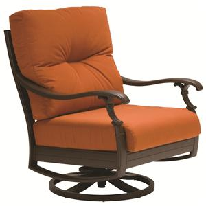 Tropitone Ravello Relax Plus Outdoor Swivel Action Lounger with Traditional Style