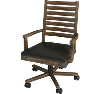 Turnkey Products Artisan Revival Office Arm Chair
