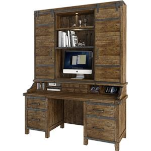 Turnkey Products Artisan Revival Smart Top Credenza and Hutch