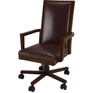 Turnkey Products Austere Antiques Office Arm Chair