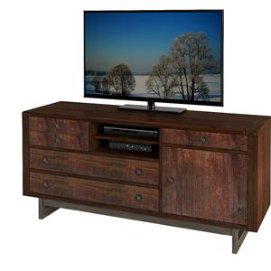 Turnkey Products Austere Antiques Storage Credenza