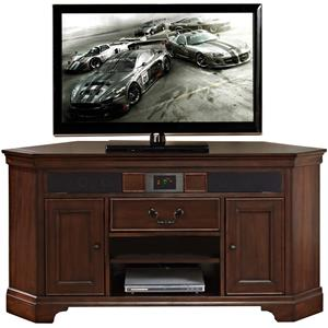 Turnkey Products Belcourt Corner Audio TV Stand