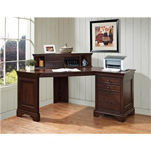 "Turnkey Products Belcourt 60"" Corner Desk & Hutch"