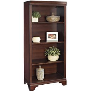 "Turnkey Products Belcourt 55"" Bookcase 4 Shelves"