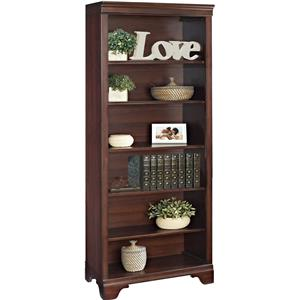 "Turnkey Products Belcourt 72"" Bookcase with 6 Shelves"