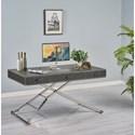 Turnkey Products Melrose Sit N' Stand Desk - Item Number: LB-SAS-K-3260-O