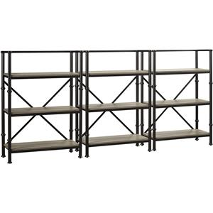 "Turnkey Products Durham Three 44"" Bookcase Wall"
