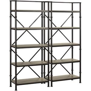 "Turnkey Products Durham Two 72"" Bookcase Wall"
