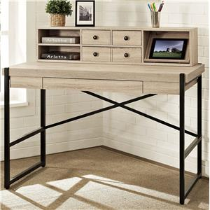 "Turnkey Products Emery 48"" Desk With Hutch"