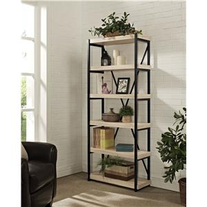 Turnkey Products Emery Bookcase 6 Shelves
