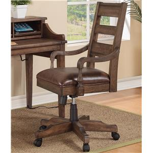 Turnkey Products Harrison Flats Office Arm Chair