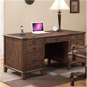 Turnkey Products Harrison Flats Executive Desk