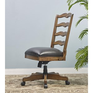 Turnkey Products Provincial Homestead Office Side Chair