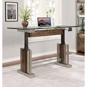 """Turnkey Products SOHO 66"""" Sit'n Stand Desk"""