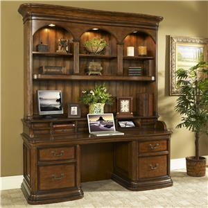 Turnkey Products Winsome Smart Top Credenza and Hutch