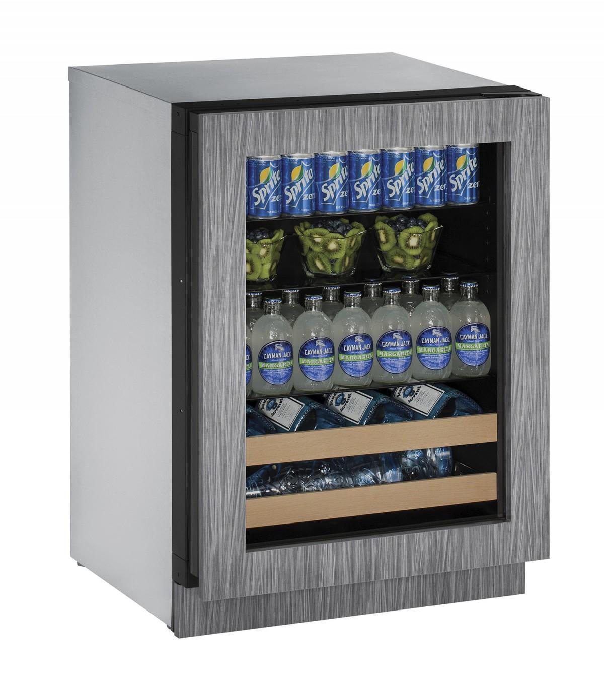 """U-Line Beverage Centers 4.9 cu ft. 2000 Series 24"""" Beverage Center - Item Number: U-2224BEVINT-01A"""