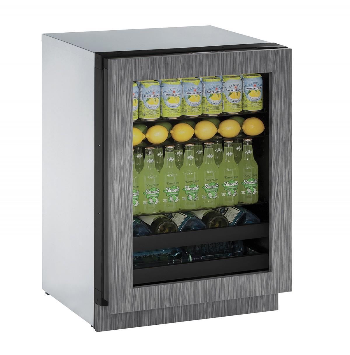 """U-Line Beverage Centers 4.9 cu. ft. Capacity 24"""" Beverage Center - Item Number: U-3024BEVINT-01A"""
