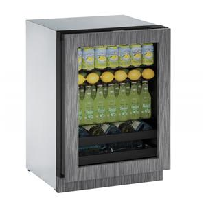 "U-Line Beverage Centers 4.9 cu. ft. Capacity 24"" Beverage Center"
