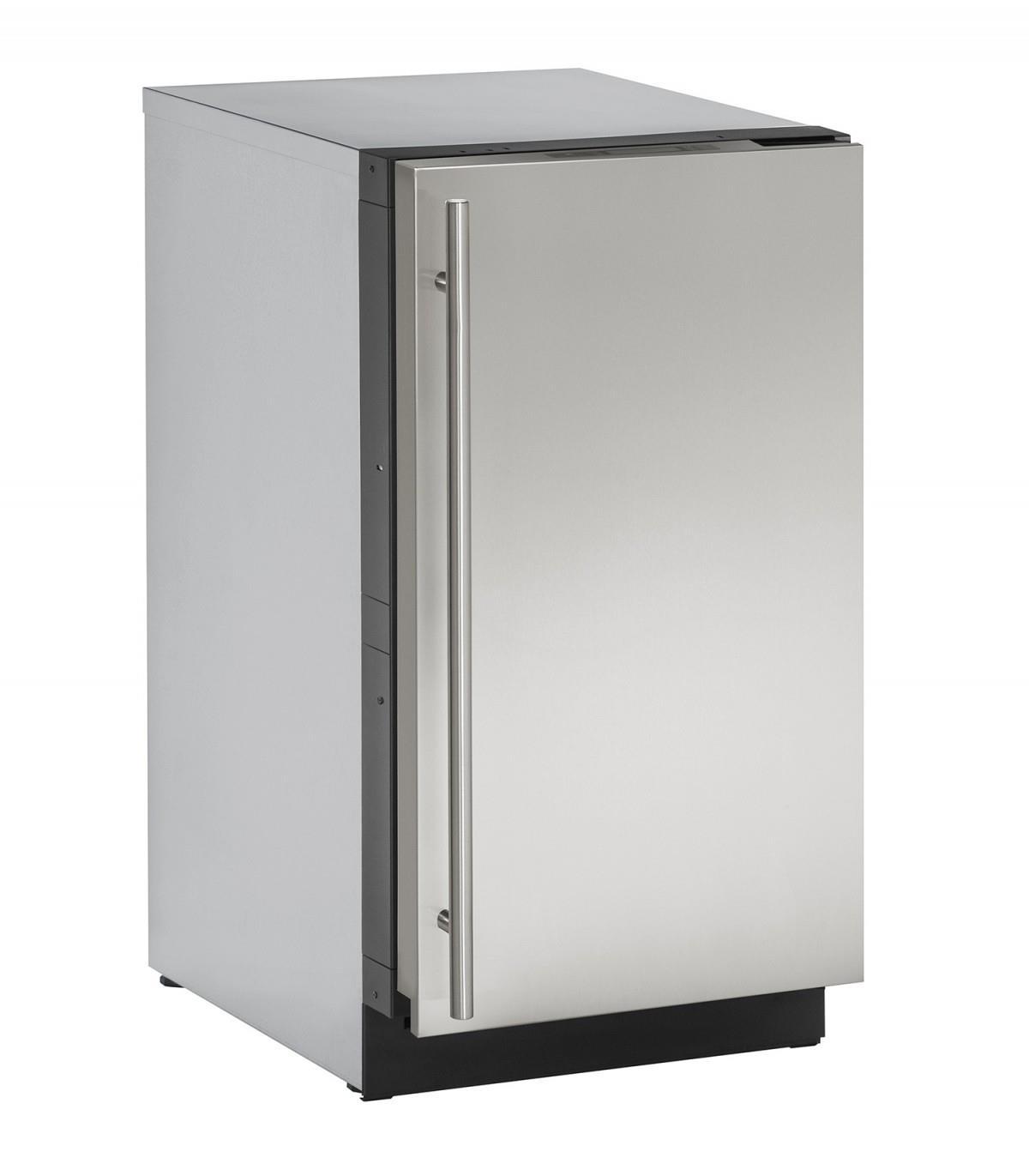 """U-Line Ice Maker 18"""" Built-in Clear Ice Machine - Item Number: U-3018CLRS-00A"""
