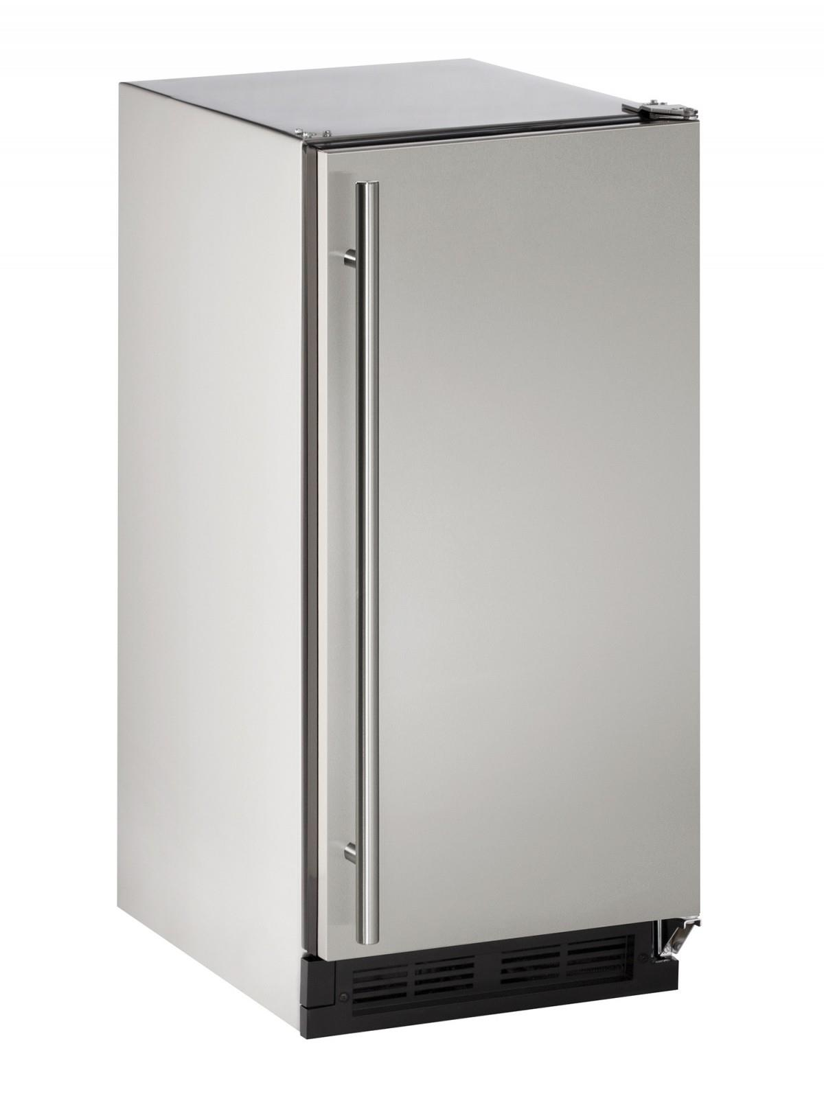 "U-Line Ice Maker 15"" Outdoor Clear Cube Ice Maker - Item Number: U-CLR1215SOD-00A"