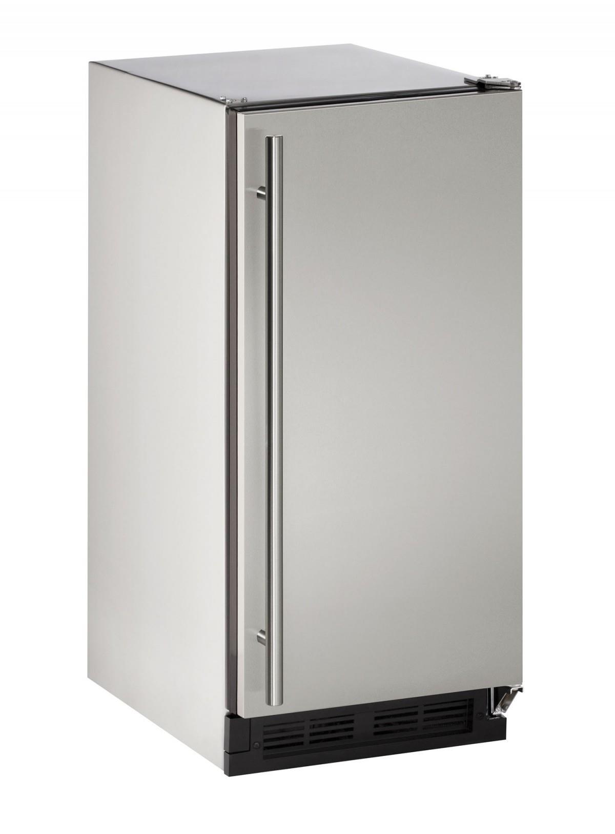 "U-Line Ice Maker 15"" Outdoor Clear Cube Ice Maker - Item Number: U-CLR1215SOD-40A"