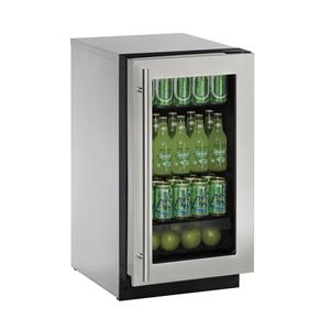 "U-Line Refrigerators 3.6 Cu. Ft. 18"" Compact All-Refrigerator"