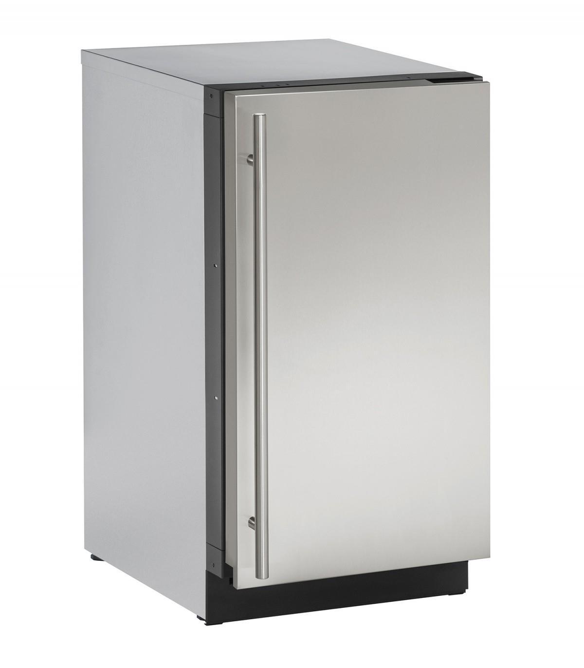 "U-Line Refrigerators 3.4 Cu. Ft. 18"" Compact All-Refrigerator - Item Number: U-2218RS-01A"