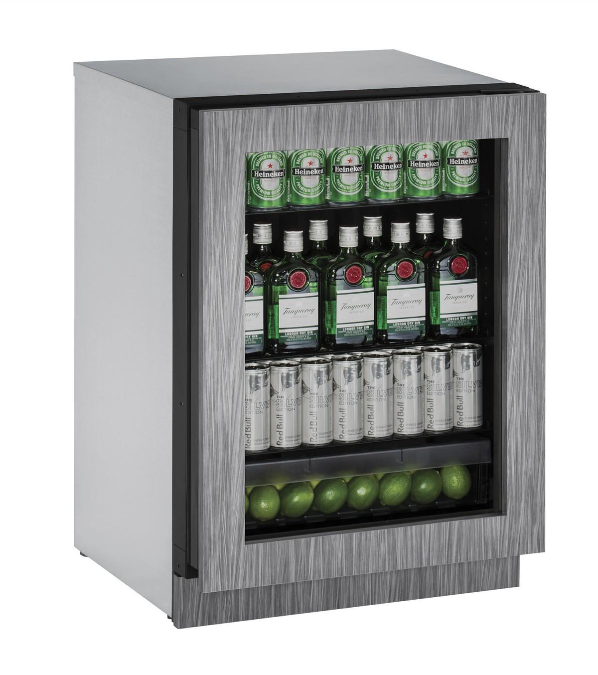 U-Line Refrigerators 4.9 Cu. Ft. 2000 Series Compact Refrigerator - Item Number: U-2224RGLINT-00A