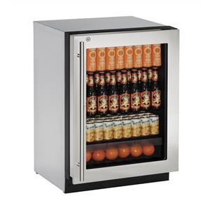 U-Line Refrigerators 4.9 cu. ft. Built-in Compact Refrigerator