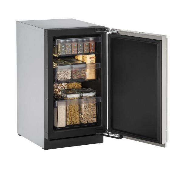 "U-Line Refrigerators 18"" Solid Door Refrigerator - Item Number: U-3018RS-00A"