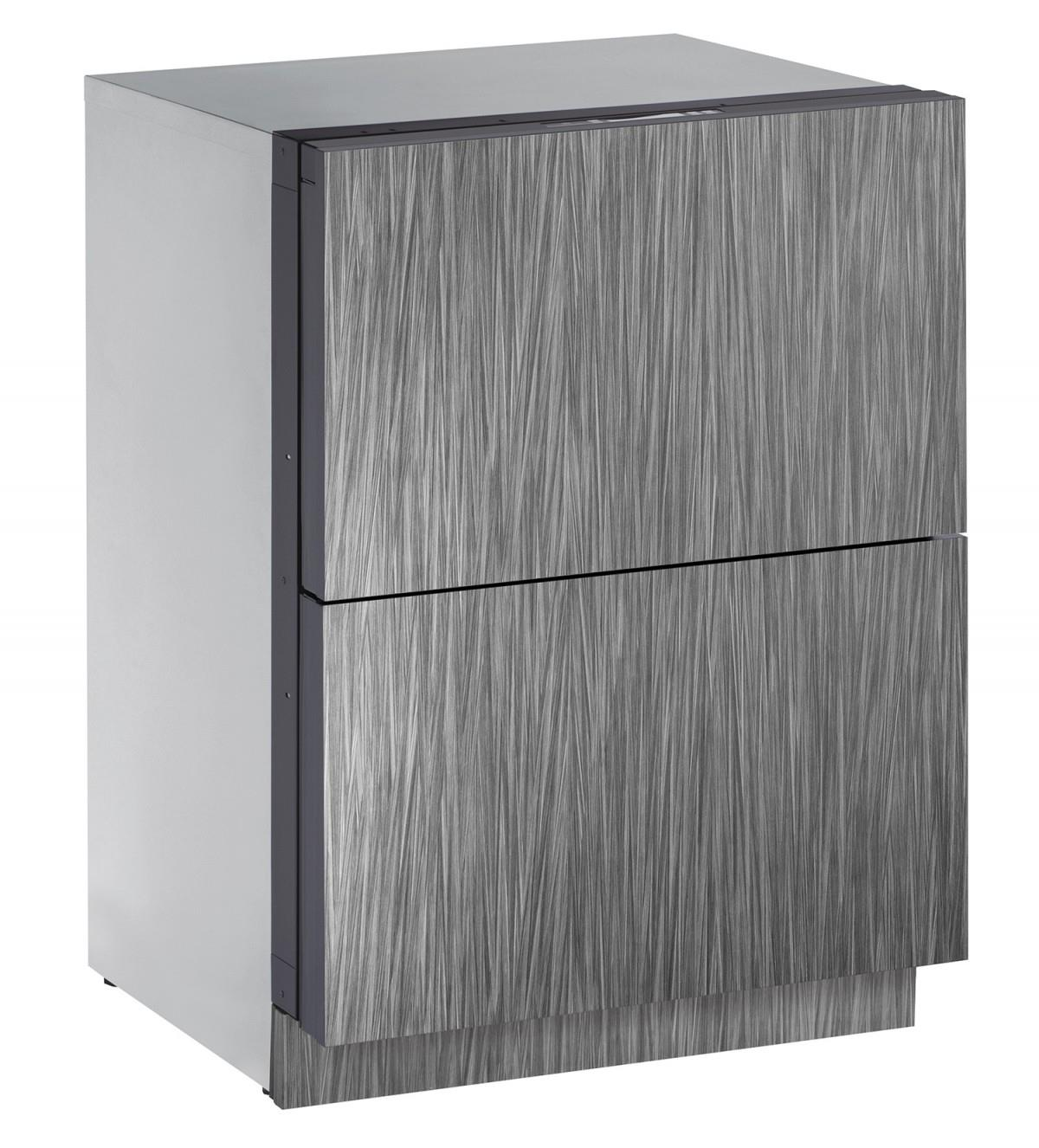 U-Line Refrigerators 4.5 cu. ft. Built-in Two Drawer Refrigerator - Item Number: U-3024DWRINT-00A
