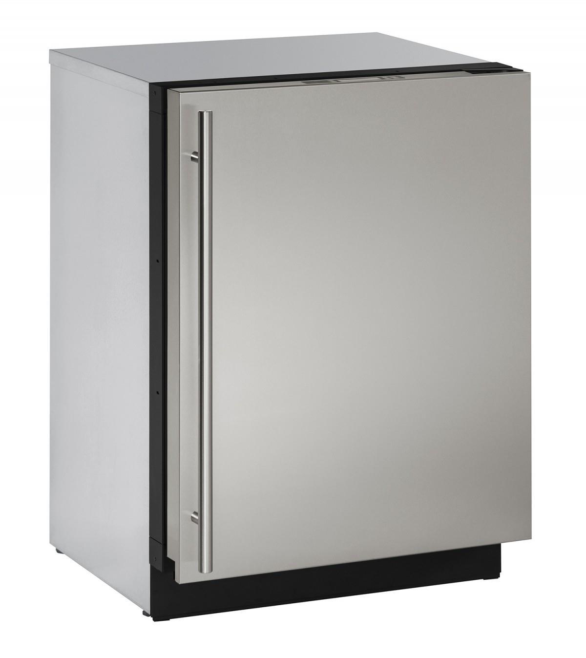 "U-Line Refrigerators 24"" Solid Door Compact Refrigerator - Item Number: U-3024RS-00A"