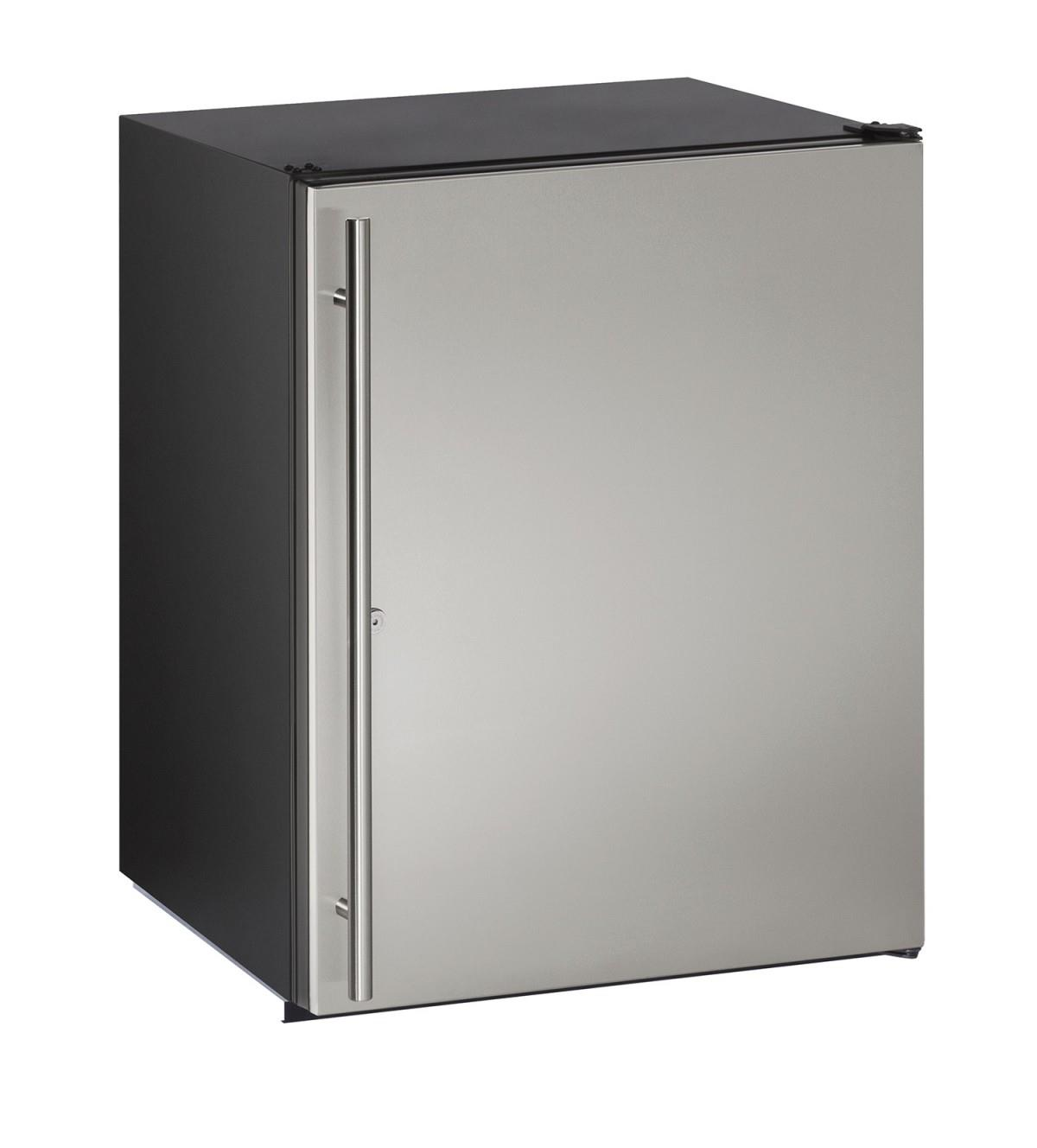 U-Line Refrigerators 5.3 cu. ft. Under-Counter Refrigerator - Item Number: U-ADA24RS-13A