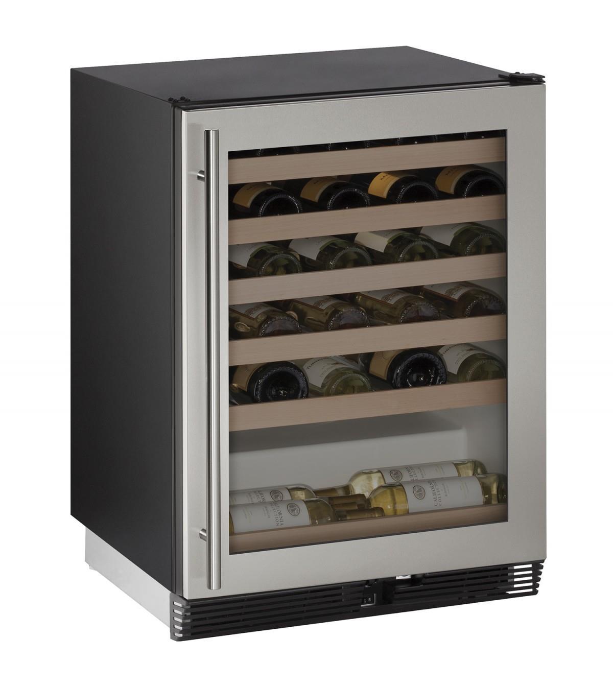 "U-Line Wine Captains 1000 Series 24"" Wine Captain® - Item Number: U-1024WCS-00A"