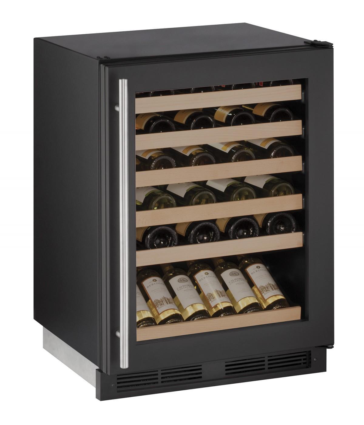"U-Line Wine Captains 1000 Series 24"""" Wine Captain® - Item Number: U-1224WCB-00A"